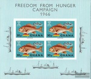 complete.issue. Unmounted Mint Amicable Ghana Block21 Never Hinged 1966 Hunger High Quality Materials