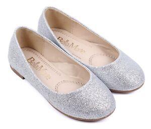 Glitter Silver Cute Slip-On Casual Kids