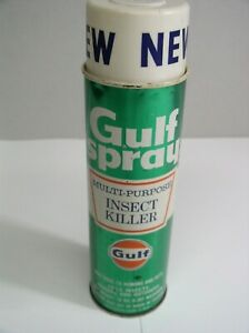 Gulf Oil Spray Insect Killer Can