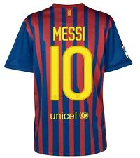 NIKE LIONEL MESSI FC BARCELONA YOUTH HOME JERSEY 2011/12.