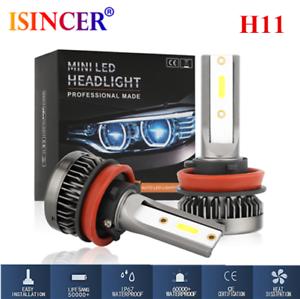 CREE-Mini-H11-LED-Headlight-1800W-FOG-Driving-Light-Hi-Low-Lamps-DRL-6000K-ll