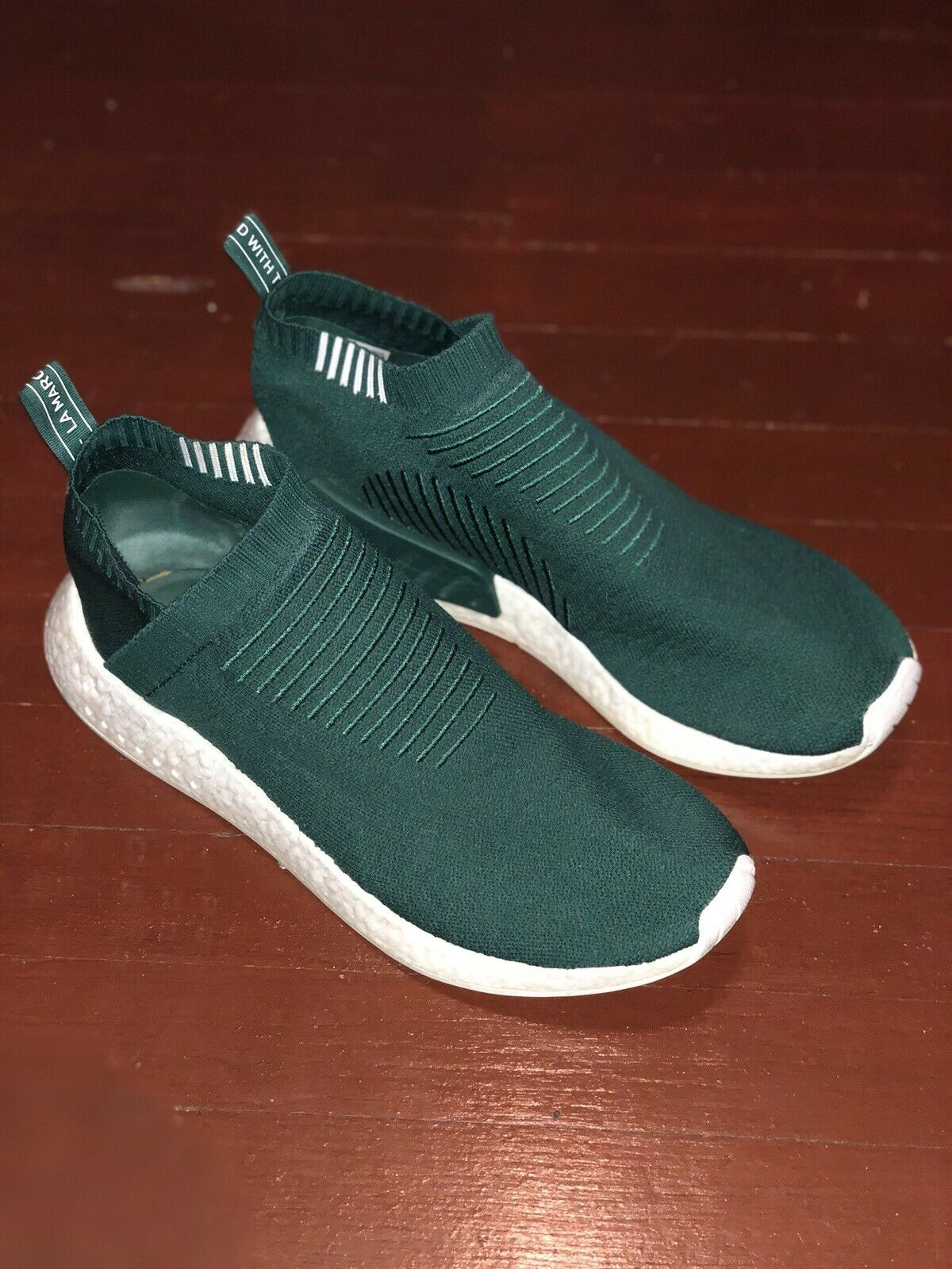 Adidas SNS nmd_cs2 Collegiate Green Size 13 Used