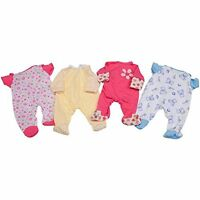 Cp Toys Tender Touch Doll Asian Baby With 4 Piece Wardrobe By Constructive Playt
