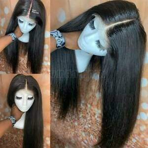 13X6-Straight-Lace-Front-Wigx-100-Brazilian-Human-Hair-Full-Wig-Pre-Plucked-89X