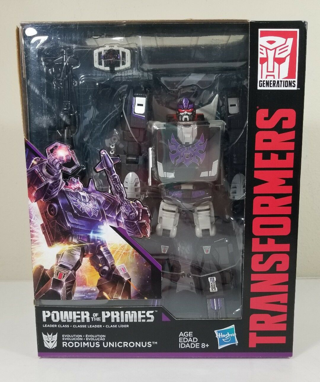 Rodimus unicronus Transformers energía de la clase clase clase líder modelo PRIMES 2018 NIH 8cf44c