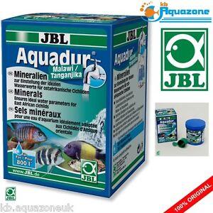Jbl aquadur malawi/tanganjika 250g * minerales para África Oriental, Cíclidos * Nuevo  </span>