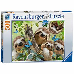 Ravensburger: Sloth Selfie 500 Piece Puzzle *BRAND NEW*