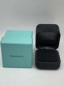 Tiffany-amp-Co-Original-Joyeria-Par-De-Anillos-Estuche-Exterior-Caja-0626025