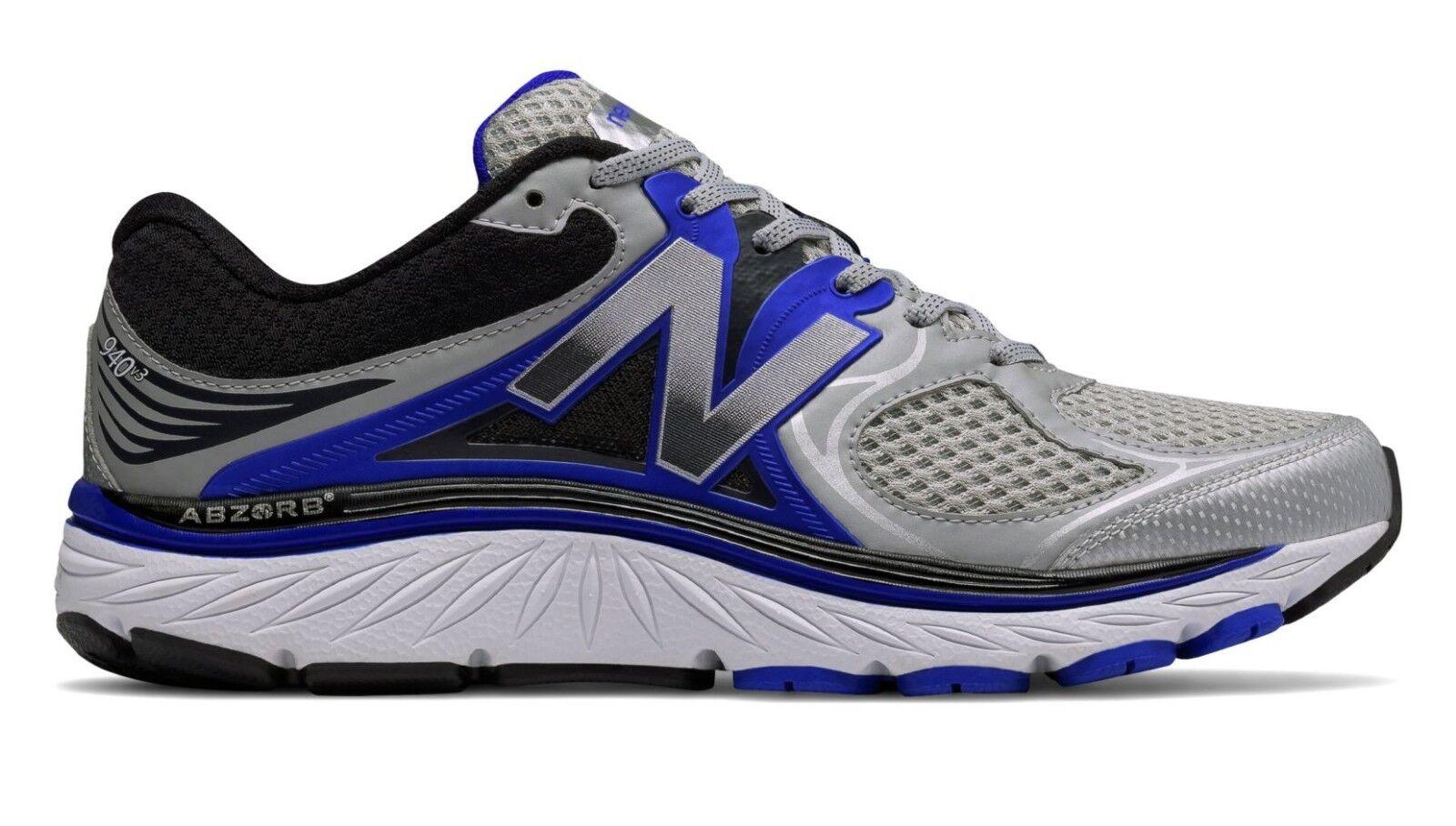 New Balance M940SB3 Men's 940v3 Optimum Control Gray Running Sneaker Shoes