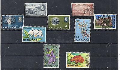 Caribbean Forceful Barbados Valores Del Año 1953-85 cq-662