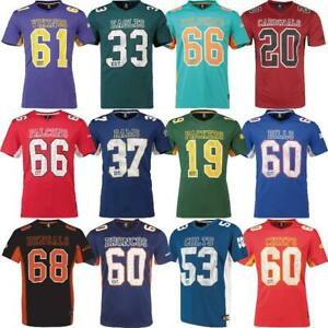 Majestic Fanatics NFL Moro Poly Mesh Herren Jersey Football Trikot T-Shirt