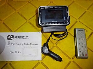 Image Is Loading Audiovox Xm Satellite Radio Xr9 Replacement Receiver Call
