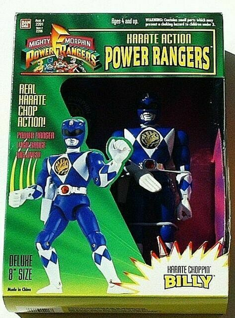 1993 Mighty Morphin Power Rangers ZACH Black Ranger Action Figure MMPR Bandai