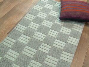 nr-1850-handgewebter-Teppich-Kelim-Kilim-aus-Wolle-ca-144-x-68-cm-NEU-Grau-Beige