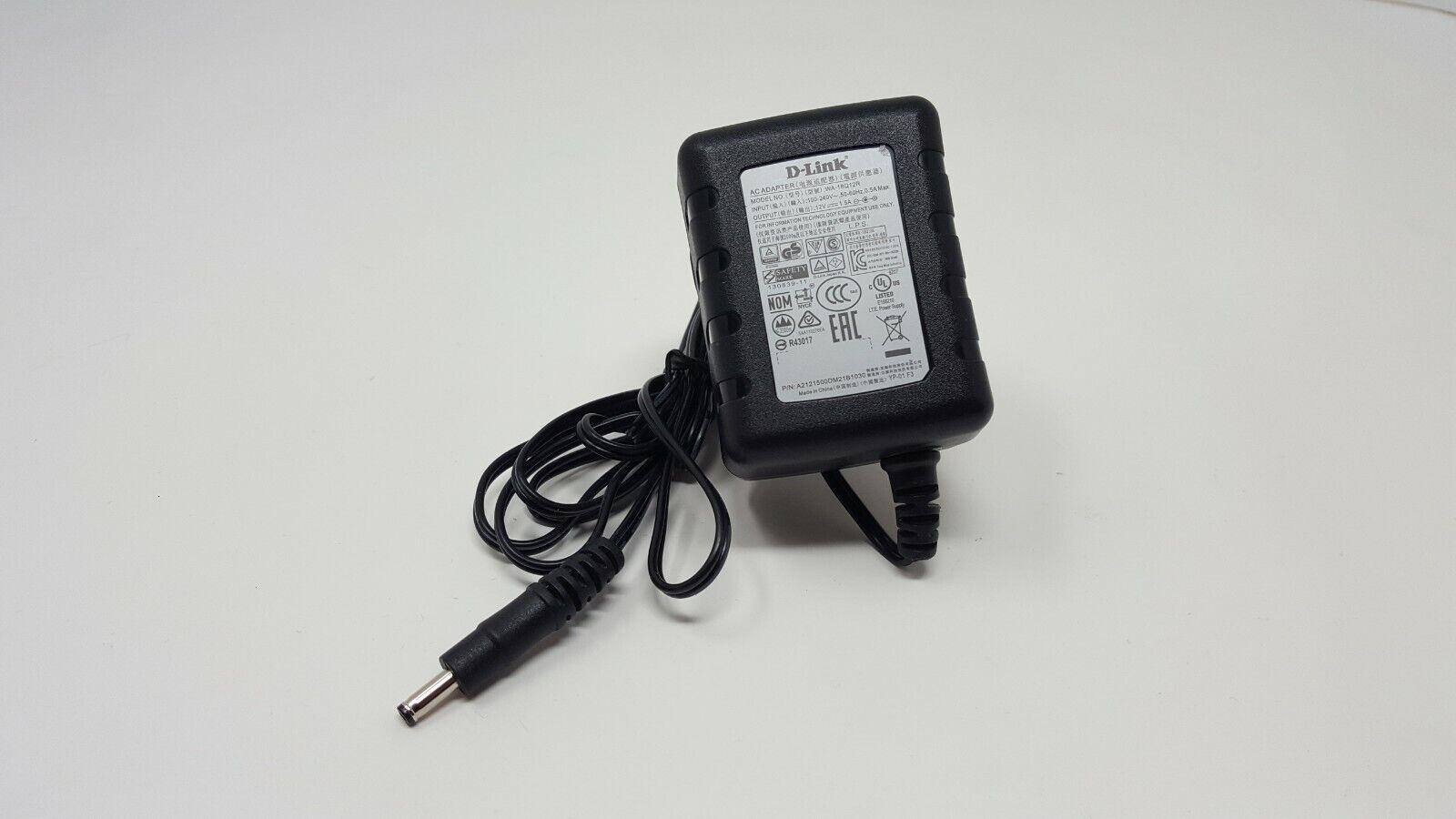 Genuine D-LINK AC Adaptor Power Supply 12V 1.5A WA-18Q12R UK PLUG