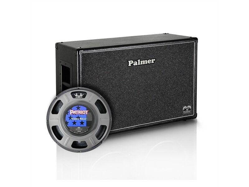 Palmer MI Gitarrenbox 2 x 12  mit Eminence Texas Heat 8 16 Ohm