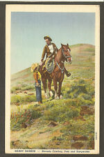 POSTCARD: HARRY HARKER, COWBOY POET w/ JOYCE REED, 4R RANCH, PARADISE VALLEY, NV