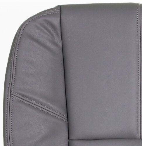 2011 2012 2013 GMC 1500HD 2500HD WT Driver Side Bottom VINYL Seat Cover Gray