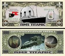 TITANIC - BILLET de collection 1 MILLION DOLLAR US ! RMS Paquebot Naufrage Epave