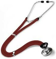 NEW IN BOX BURGUNDY SPRAGUE RAPPAPORT STETHOSCOPE