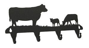 Cow-Key-Hook-Holder-Western-Calf-Cows-Farm