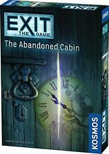 Exit The Game The Abandoned Cabin Thames & Kosmos TAK 692681 Escape Room Card