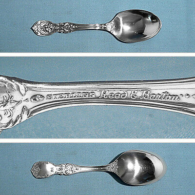 Reed /& Barton Francis I Sterling Silver Demitasse Spoon New Mark No Mono