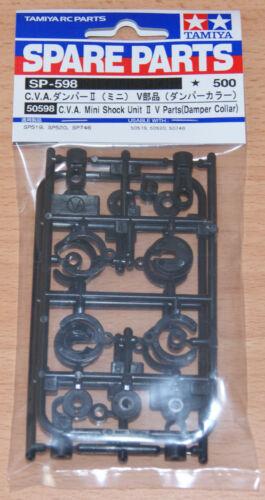 amortisseur Col Neuf sous emballage TAMIYA 50598//0225070 CVA Mini chocs unité II V Pièces 2 pcs