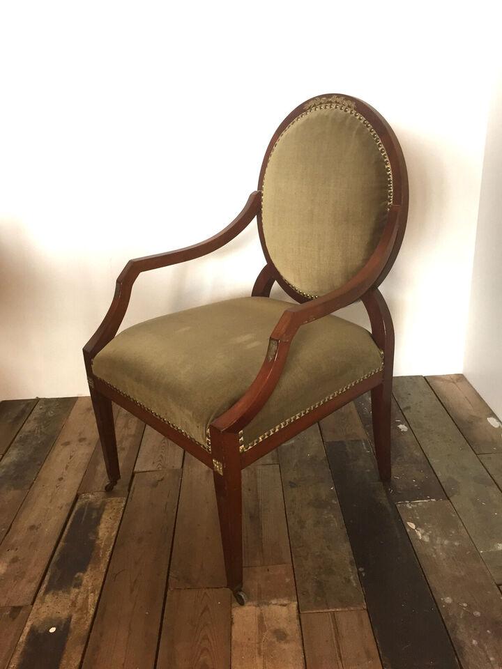 Et par salonstole i Empirestil