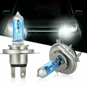 100W 6000K Xenon Gas Halogen 12V 2X Bright H7 Headlight White Light Lamp Bulbs C