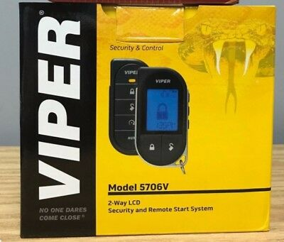 Viper 5706V 2-Way Car Security with Remote Start System