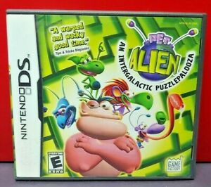 Pet-Alien-Nintendo-DS-DS-Lite-3DS-2DS-Game-Complete-Tested