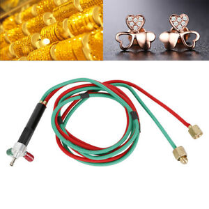 Jewelry Jewelers Micro Mini Gas Little Torch Welding Soldering Kit 5 Tips