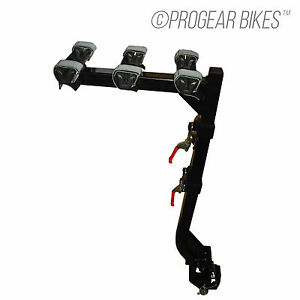 PROGEAR-BRAND-NEW-3-BICYCLE-BIKE-RACK-HITCH-MOUNT-CARRIER-CAR