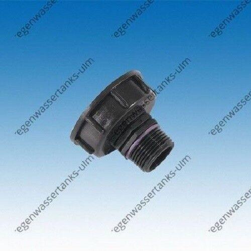 "Grobgewinde S60x6 x 1/"" AG #H25 IBC Adapter"