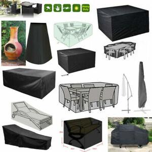GARDEN RATTAN Outdoor Furniture Covers Patio Tavolo Bench Bbq Ombrello Protezione