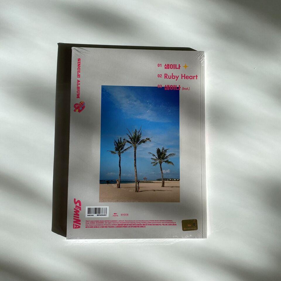 Gugudan SeMiNa: SeMiNa (1st Single Album, pop