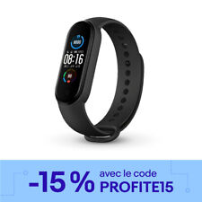 Original Xiaomi Mi Band 5 Heart Rate Noir Version Globale Smart Fitness Bracelet