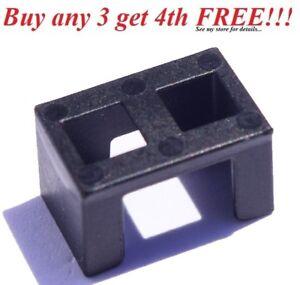 Minifig Black Armor Leg Anti-Blast Kama Plastic LEGO Star Wars