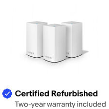 Linksys Velop Intelligent Mesh WiFi System, 3-Pack White (AC3900)