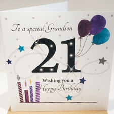 18th Birthday Card For Grandson