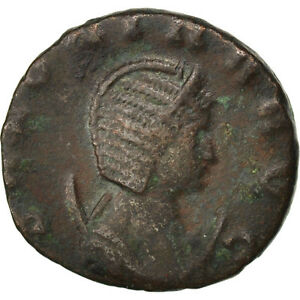 Billon Salonina 2.80 Promoting Health And Curing Diseases 40-45 Diplomatic #65436 Cohen #11 Ef Antoninianus