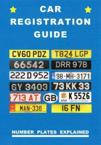 Peter Robson-Car Registration Guide BOOK NEUF