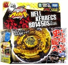 TAKARA TOMY BEYBLADE METAL FUSION BB-99 GOLD HELL HADES KERBECS BD145DS+LAUNCHER
