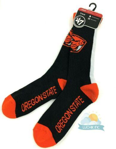47 Oregon State Beavers Unisex 1 Pair Duster Norse Crew Sport Socks