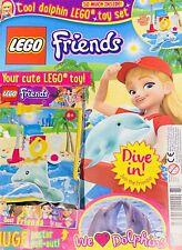 Lego Friends Magazine issue 41 Lego bakery set /& bonus toy Snowman