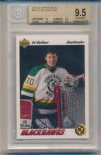 1991 Upper Deck Ed Belfour (Star Rookie) (39) (Sub grades 2-10's/2-9.5's) BGS9.5