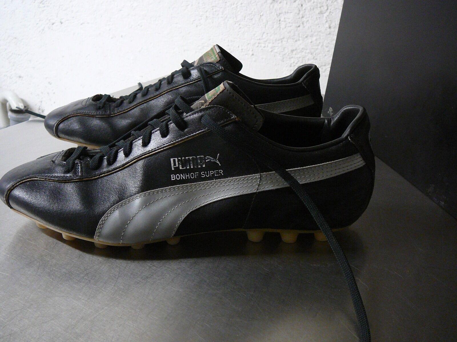 Puma vintage soccer Stiefel Bonhof Super UK 10 70iger    | Die Königin Der Qualität  4086c4