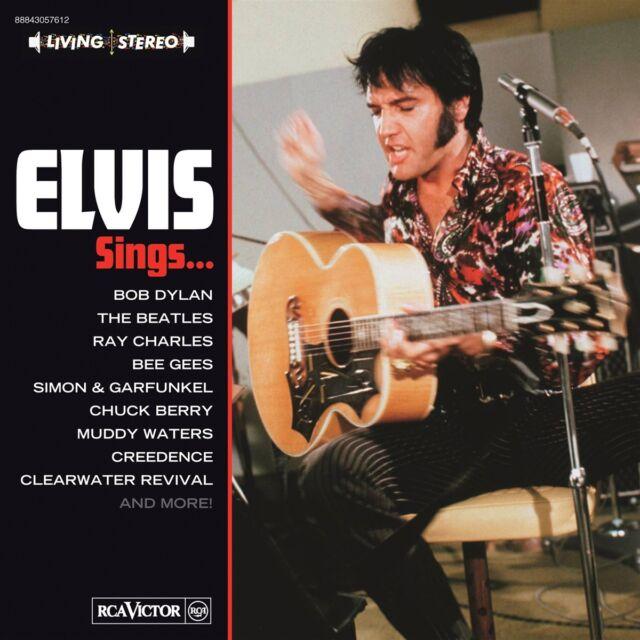 Elvis Presley - Elvis Sings Bob Dylan, The Beatles, Ray Charles, Bee Gees, Si...