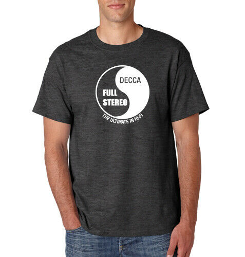Decca Records T-Shirt The Who Rolling Stones English British UK Music Label Tee
